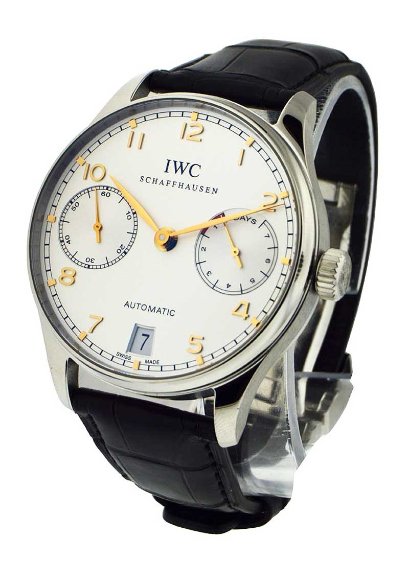 IWC Portuguese 42mm Automatic in Steel