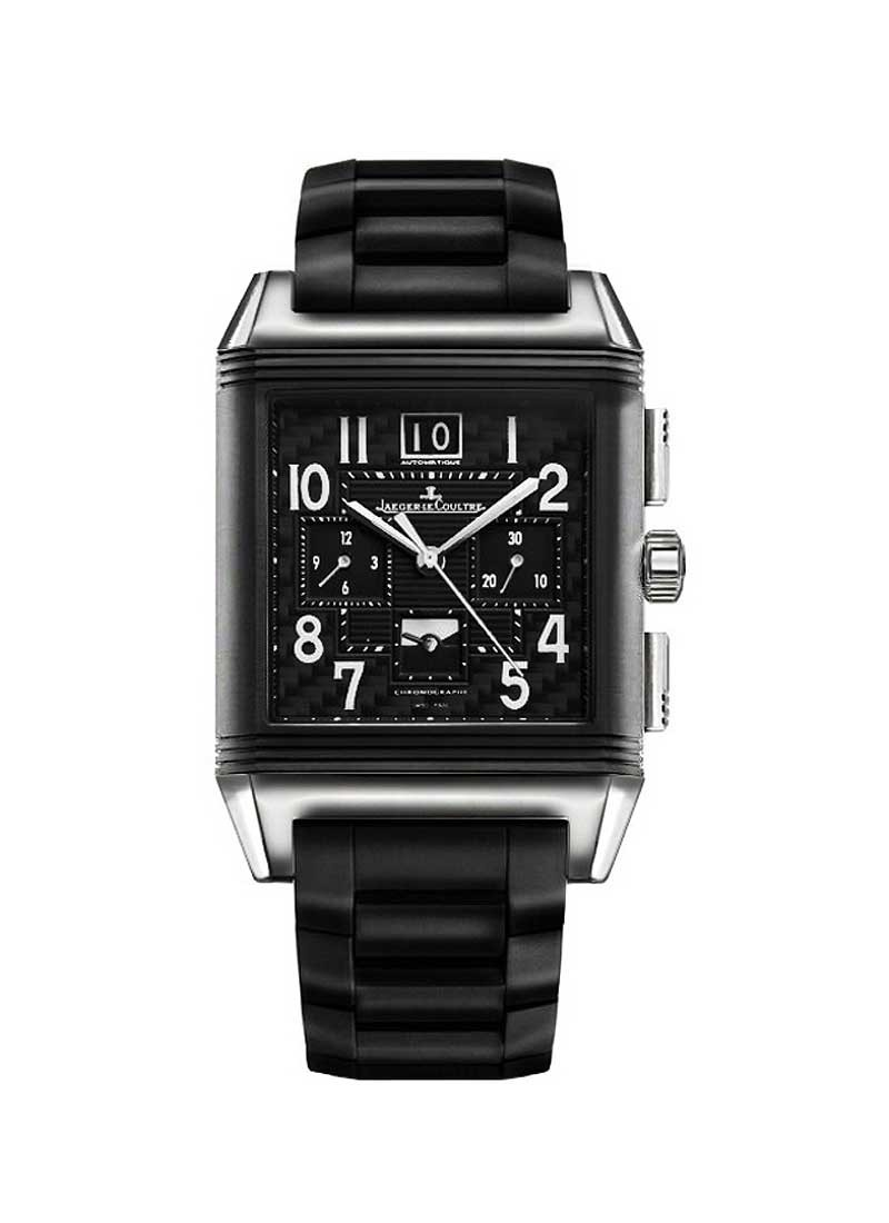 Jaeger - LeCoultre Reverso Squadra World Chronograph Polo Fields in Titanium with Ceramic Bezel