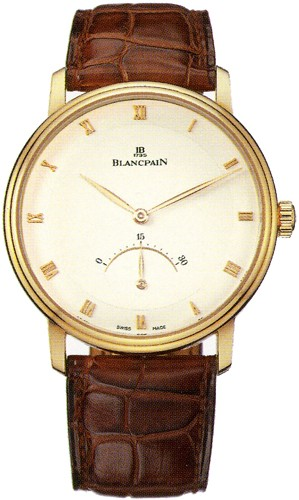 Blancpain Villeret Ultra Slim in Rose Gold