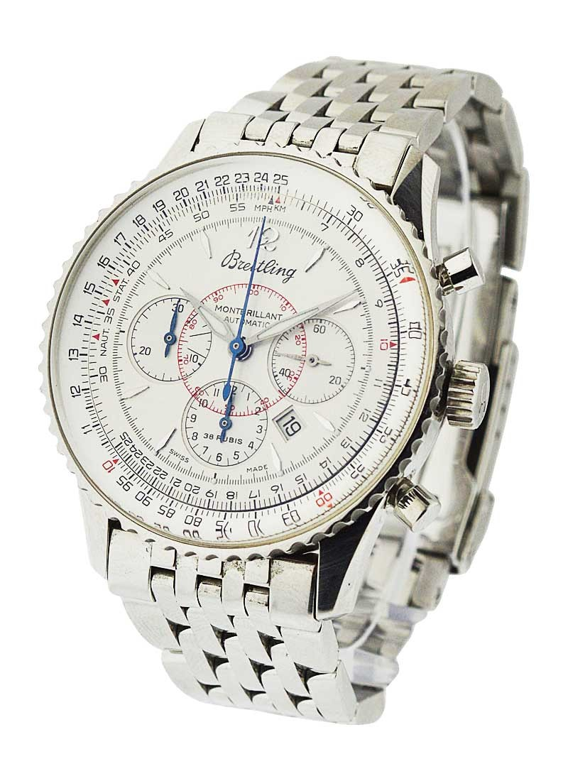 Breitling Montbrillant Chronograph 38mm Automatic in Steel