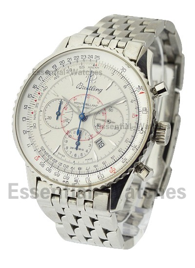 Breitling Montbrillant Chronograph in Steel