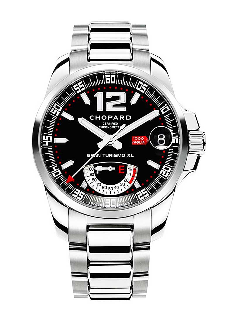 Chopard Mille Miglia GT XL GMT Power Reserve in Steel