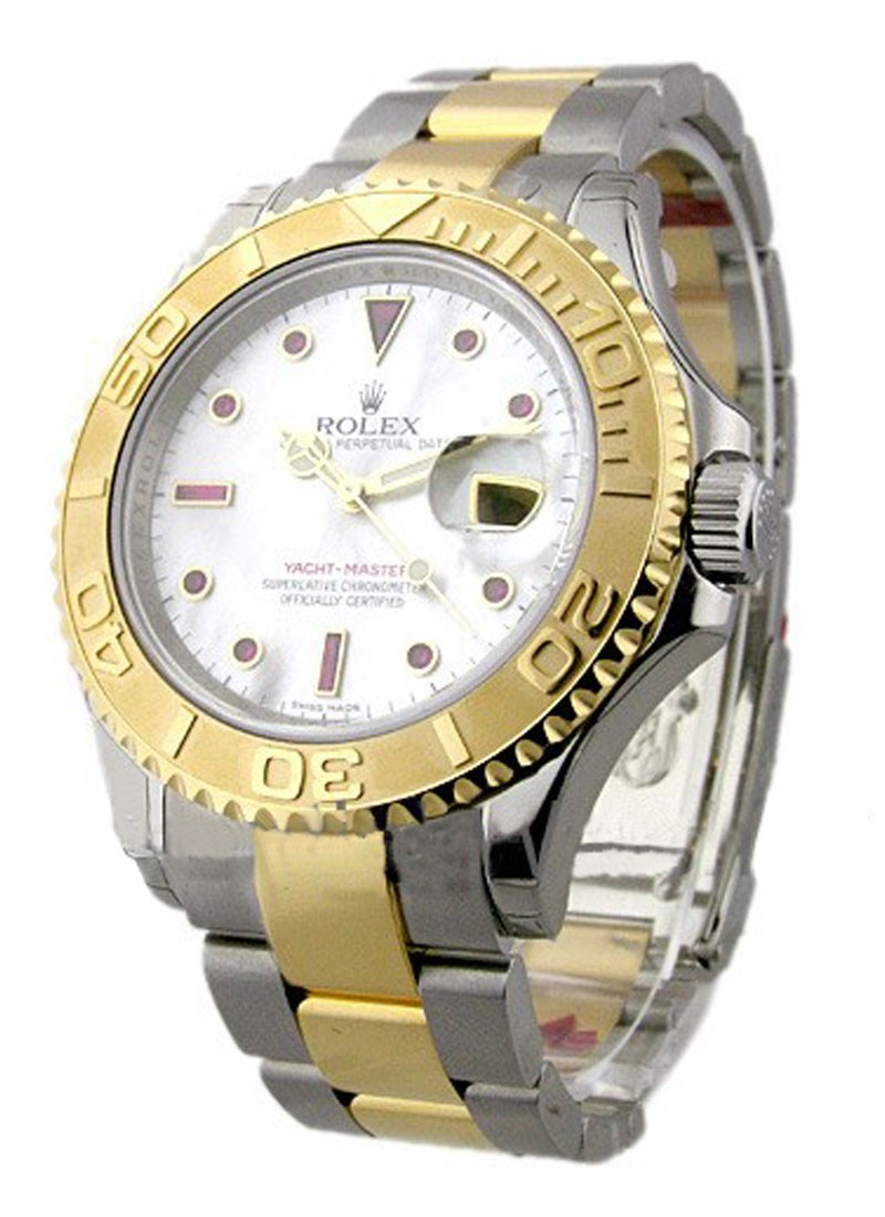 Rolex Unworn Yachtmaster 2-Tone in Steel with Yellow Gold Bezel