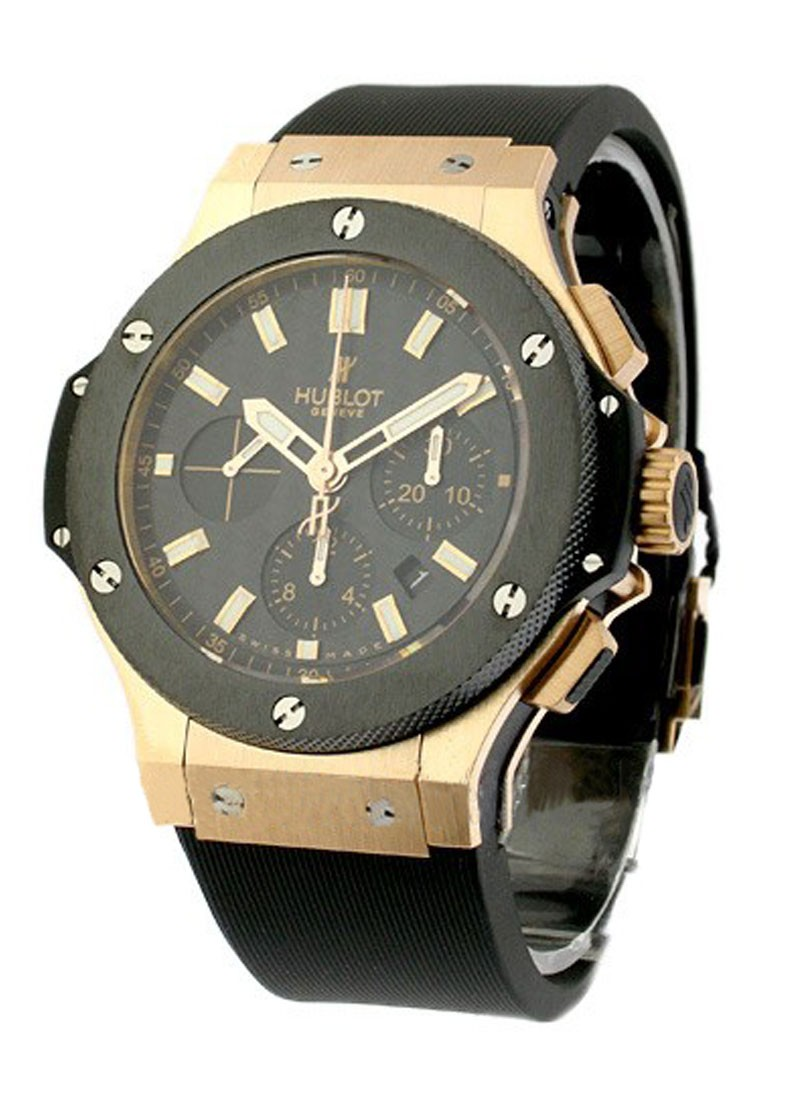 Hublot Big Bang Evolution 44mm in Rose Gold with Ceramic Bezel