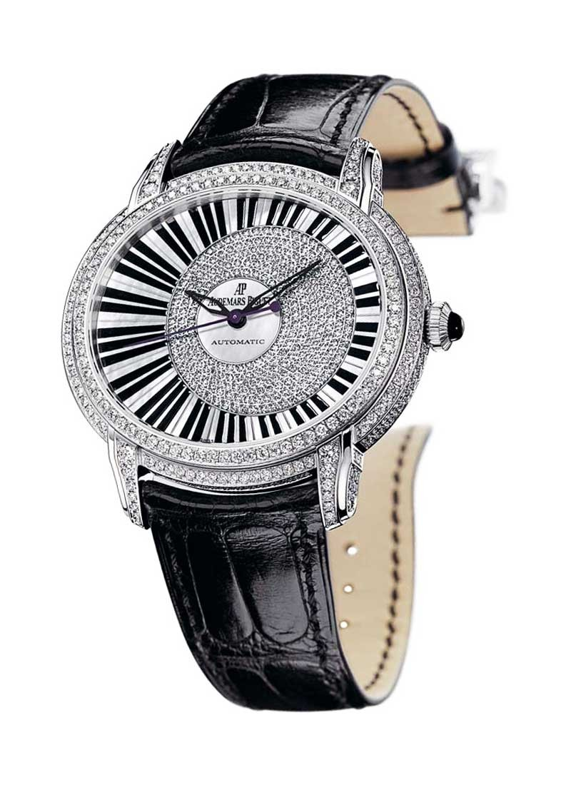 Audemars Piguet Millenary 50mm Automatic in White Gold (Pianoforte)