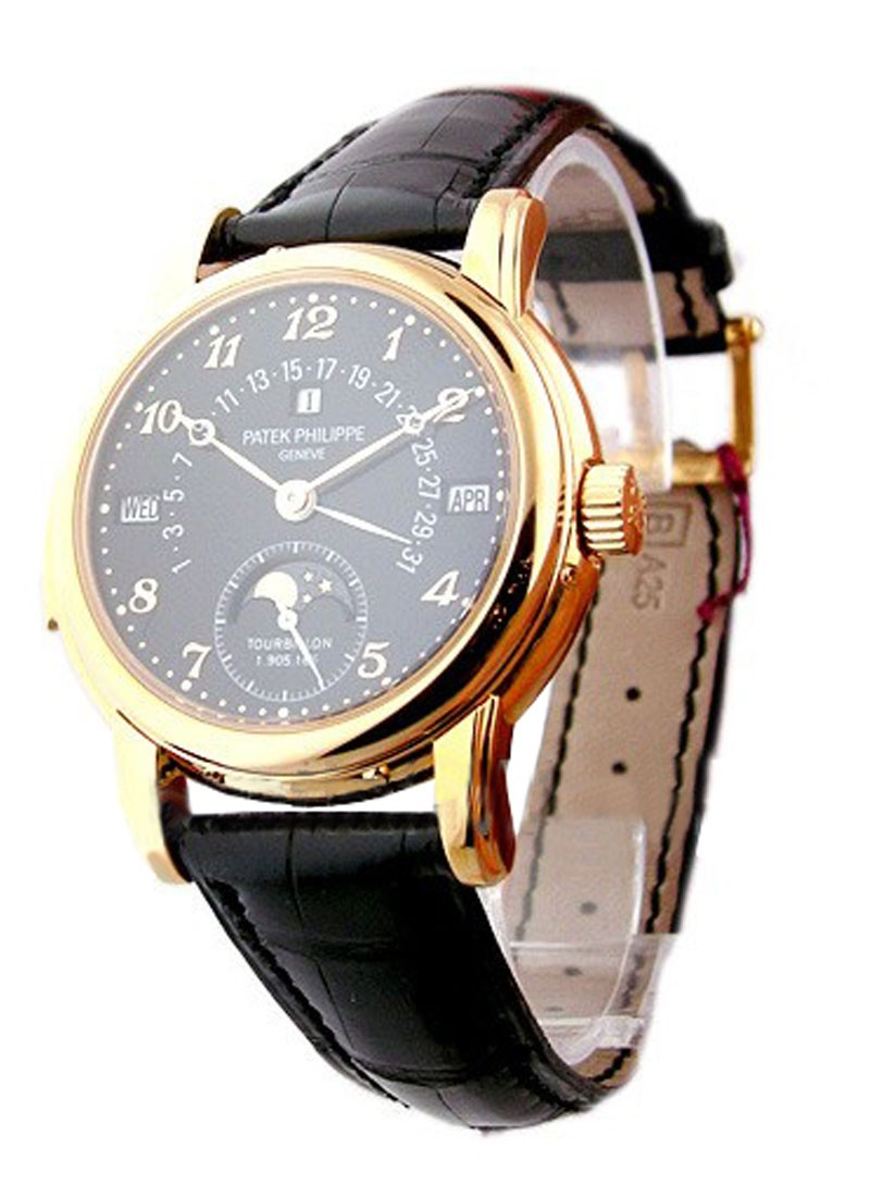 Patek Philippe Minute Repeater Tourbillion Perpetual Calendar Retrograde in Rose Gold