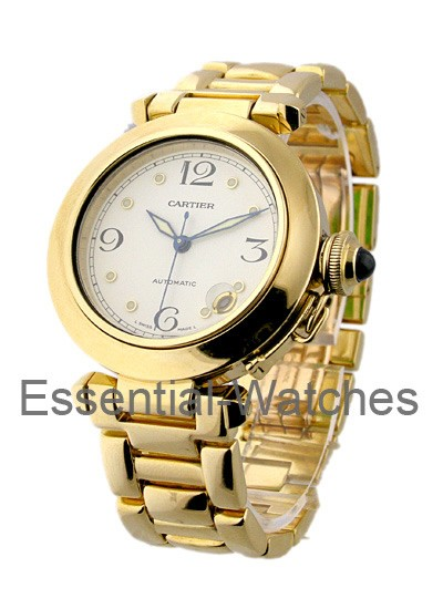 Cartier Pasha 35mm Yellow Gold