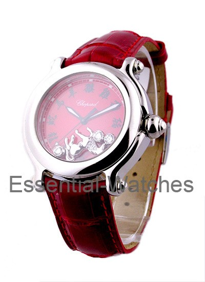Chopard Happy Sport Chinese Equestrian Red