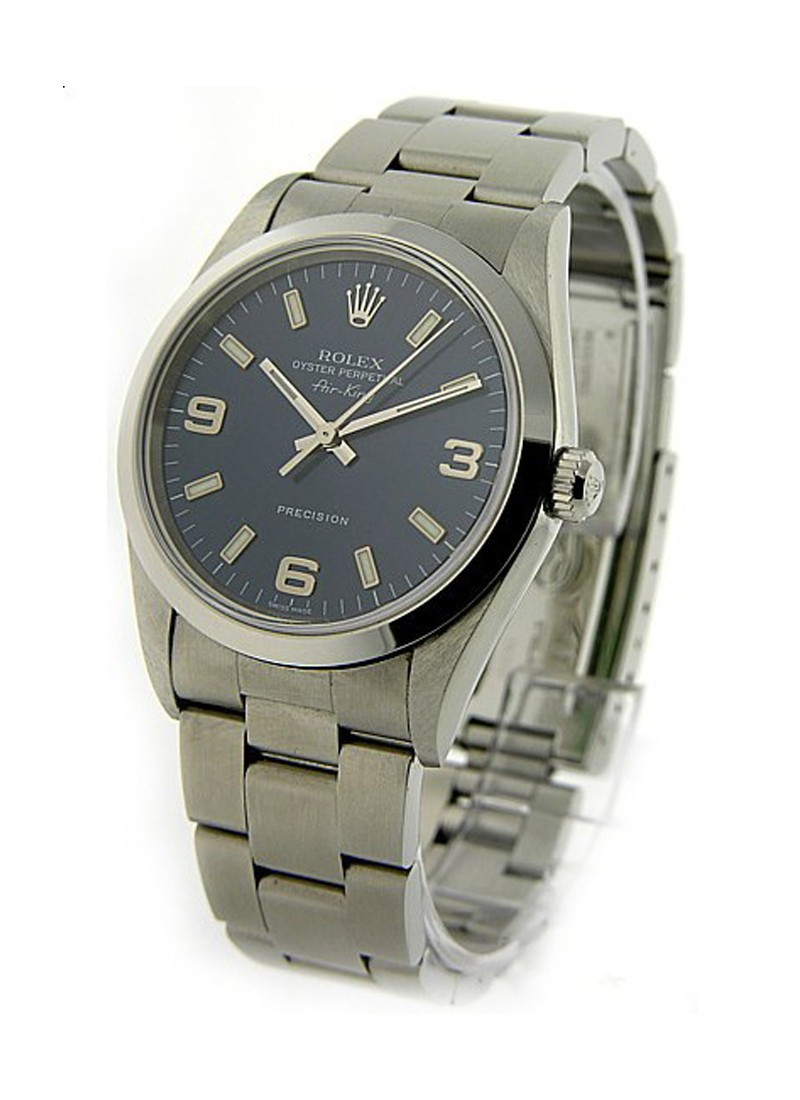Rolex Used Air King in Steel   Smooth Bezel   114200