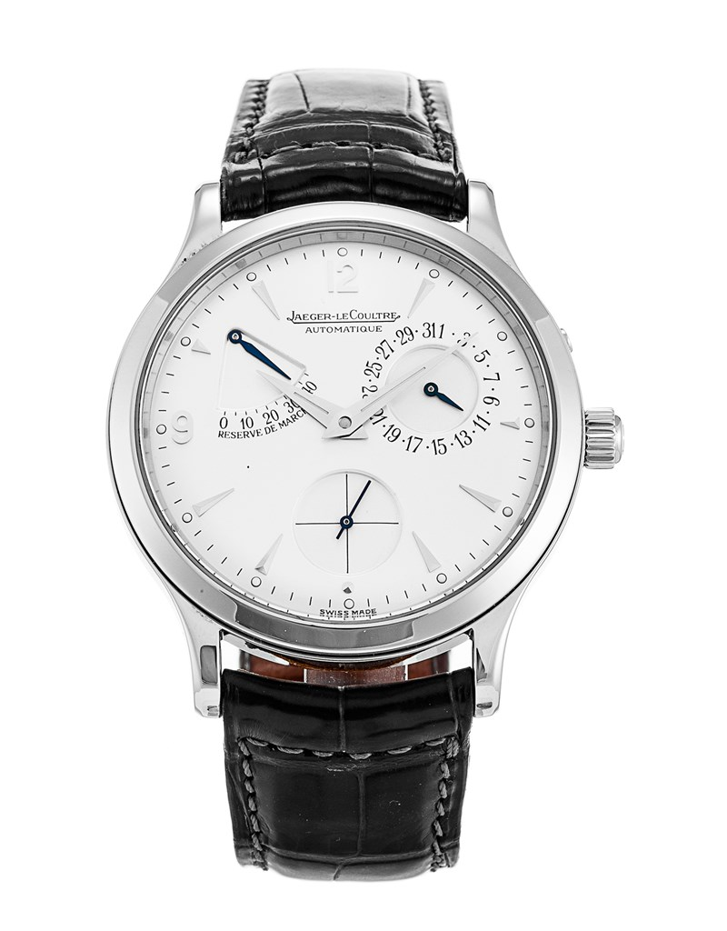 Jaeger - LeCoultre Master Reserve De Marche 37mm in Stainless Steel