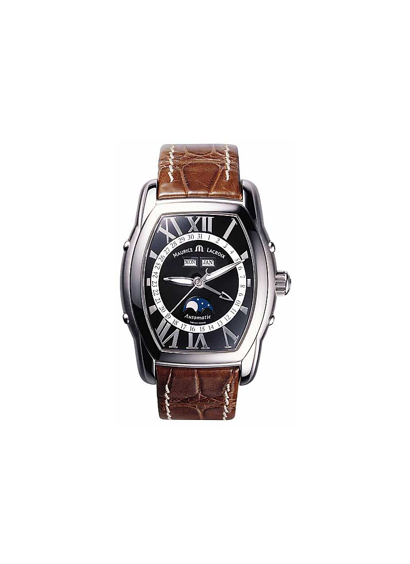 Maurice Lacroix Masterpiece Phase de Lune Tonneau in Stainless Steel