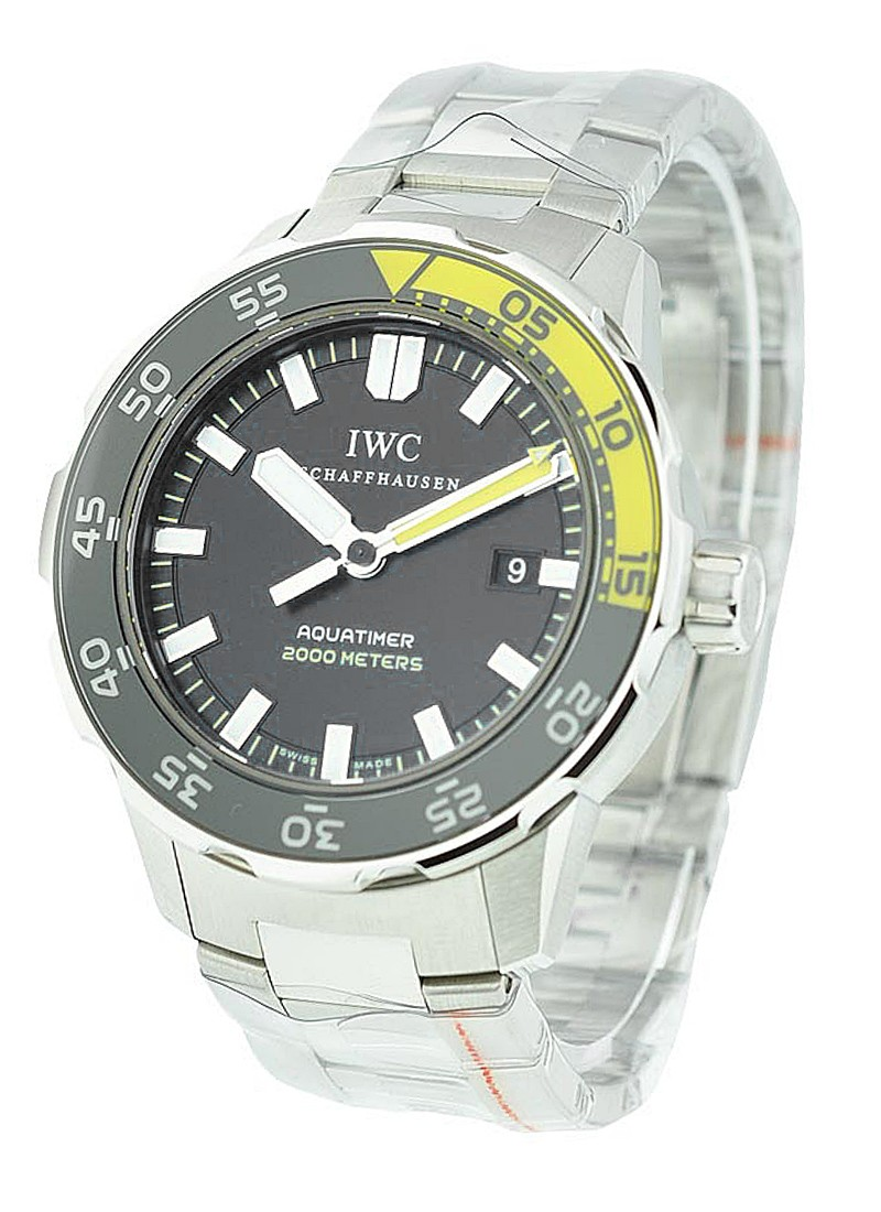 IWC Aquatimer Automatic 2000 in Steel