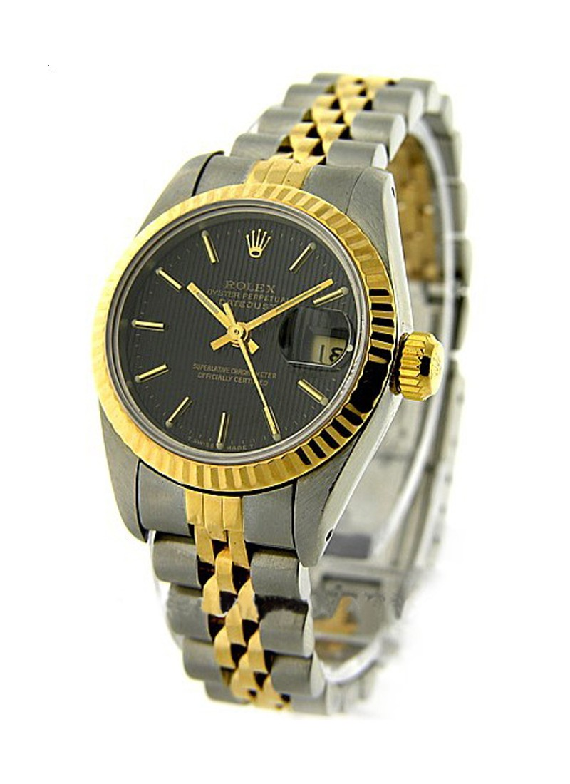 Rolex Used 2 Tone Mens Datejust Ref 16233
