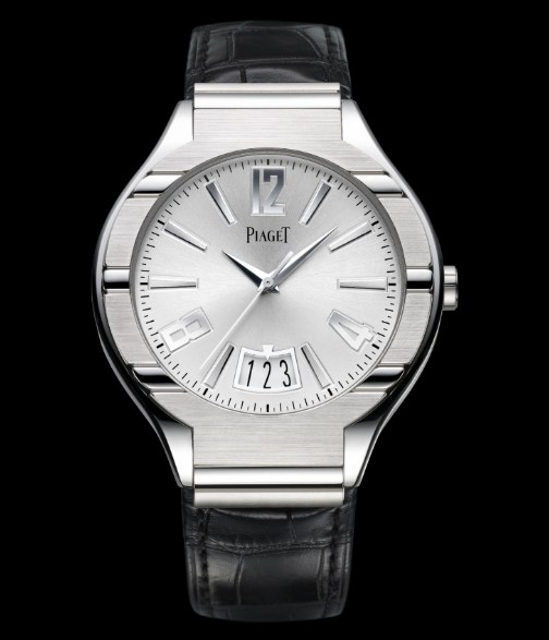 Piaget Polo Large with Power Reserve in White Gold