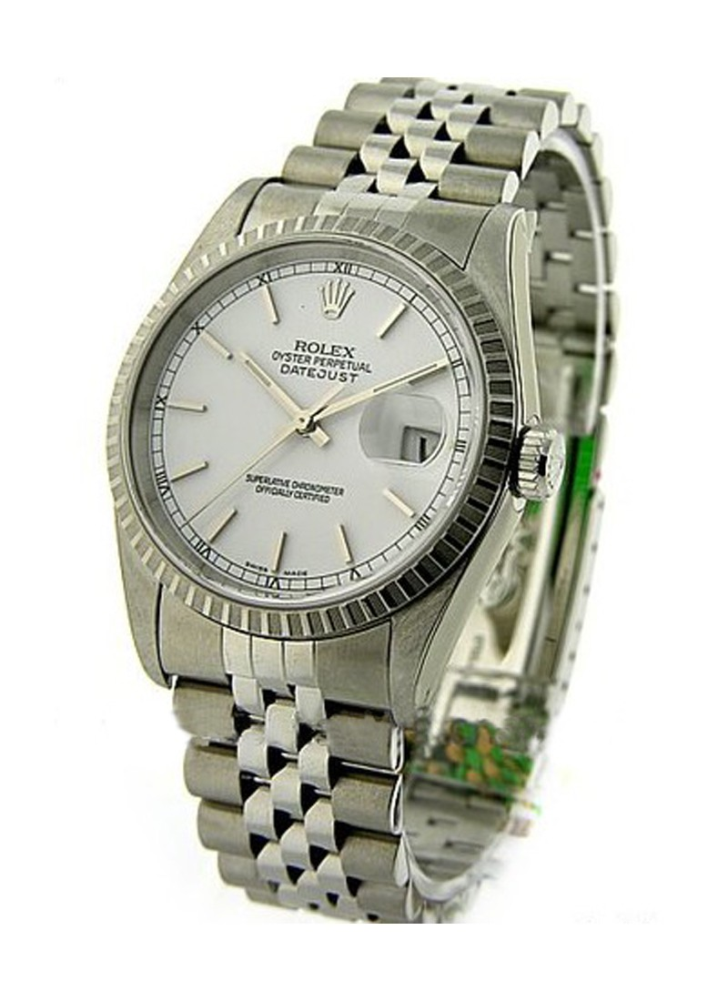 Rolex Used Mens Datejust in Steel