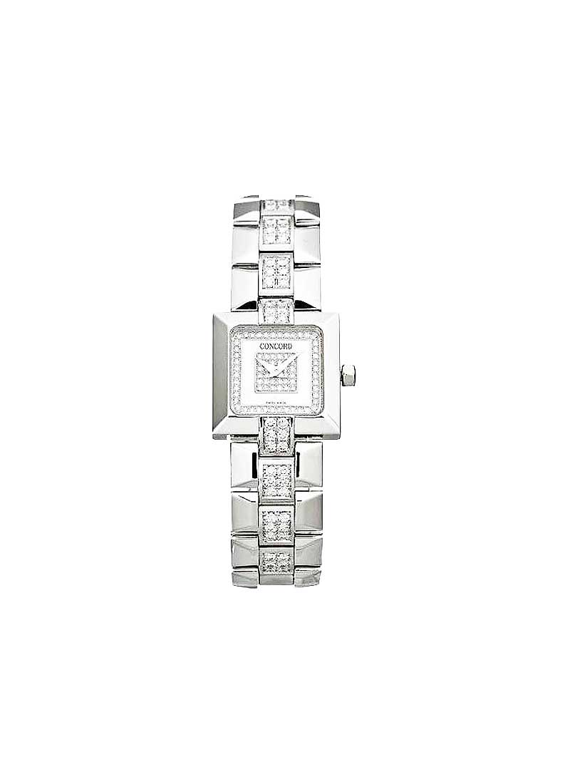 Concord La Scala Square in White Gold