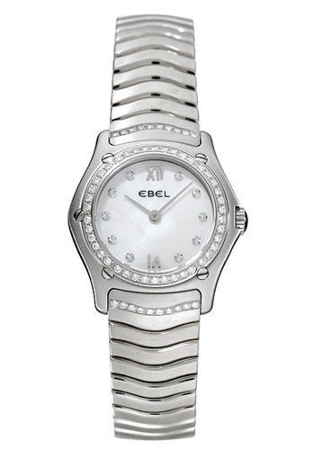 Ebel Classic Wave Lady's 27mm Quartz in Steel
