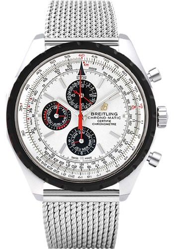 Breitling Chrono-Matic 1461 49mm in Steel with Rotating Bezel