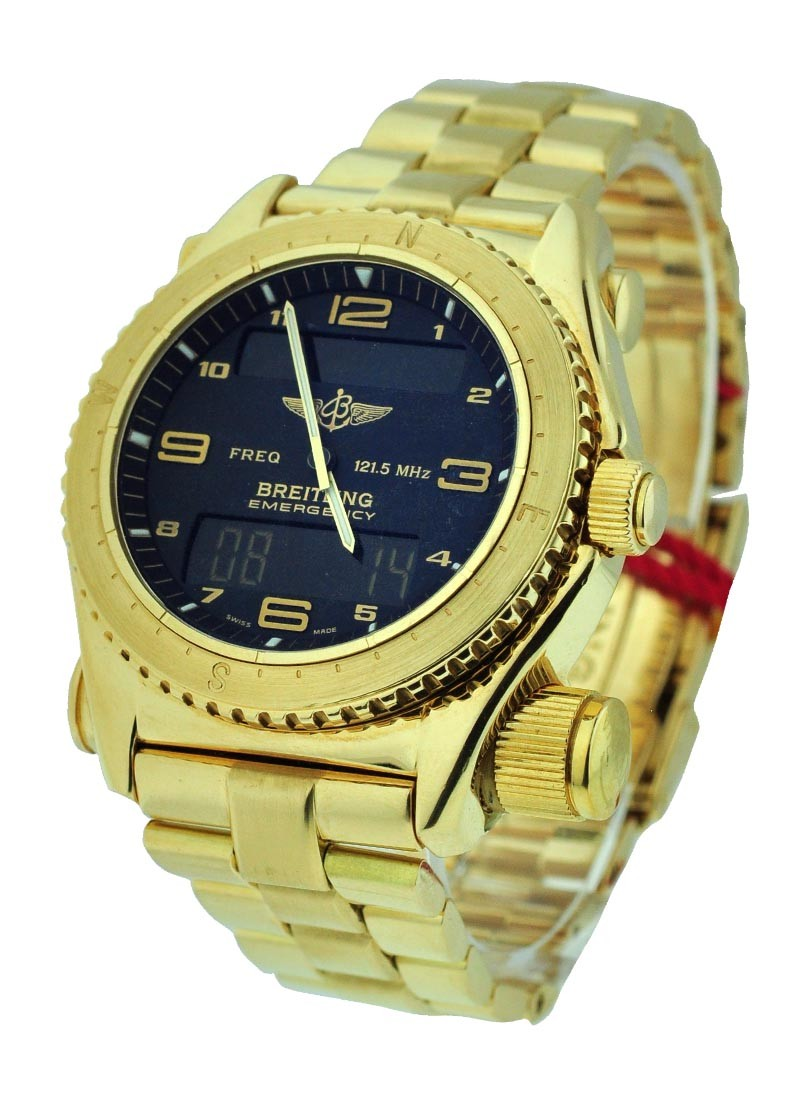 Breitling Emergency Yellow Gold