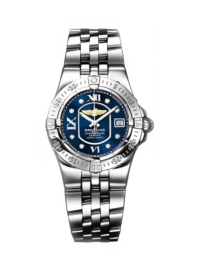 Breitling Lady's Starliner in Steel