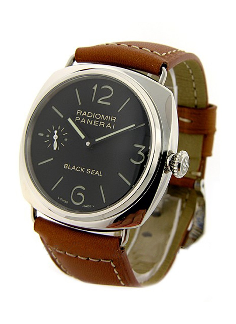 Panerai PAM 183 - Radiomir Black Seal in Steel