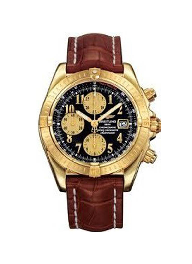 Breitling Chronomat Evolution in Yellow Gold