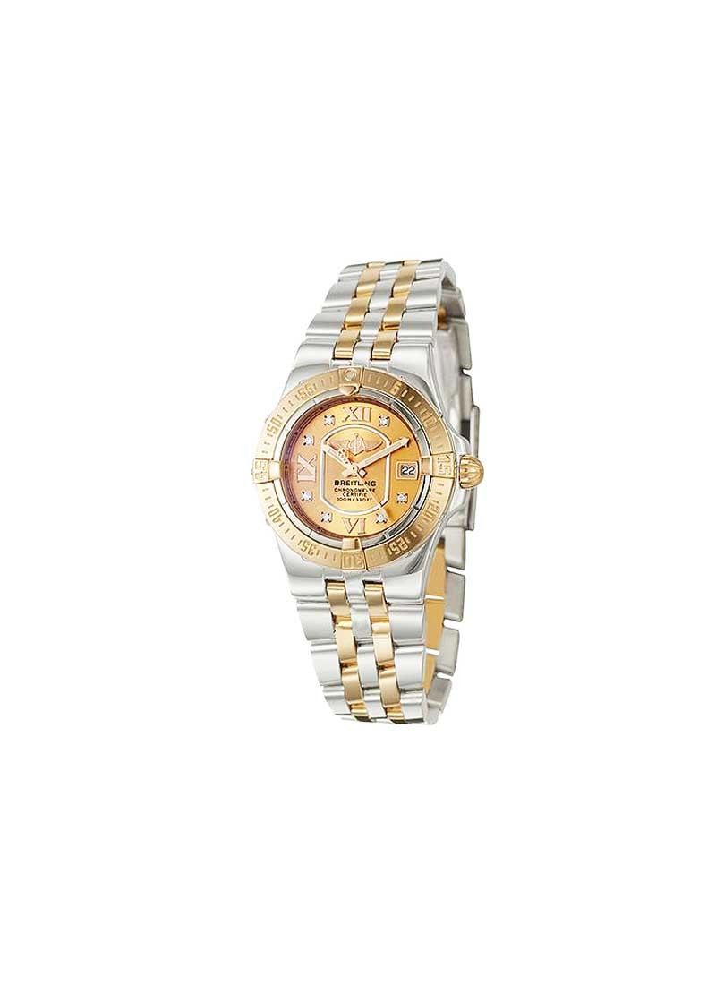 Breitling Lady's Starliner in 2-Tone