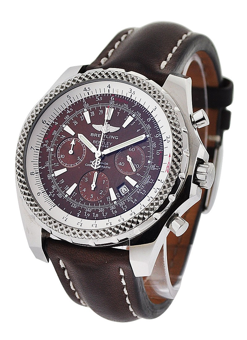 Breitling Bentley Motors Men's Automatic Chronograph in Steel