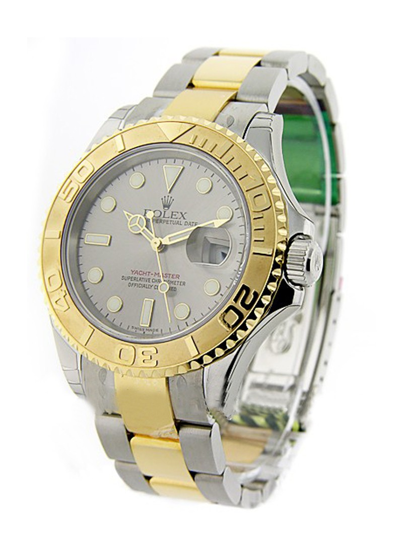 Rolex Unworn Yacht Master in Steel with Yellow Gold Bezel