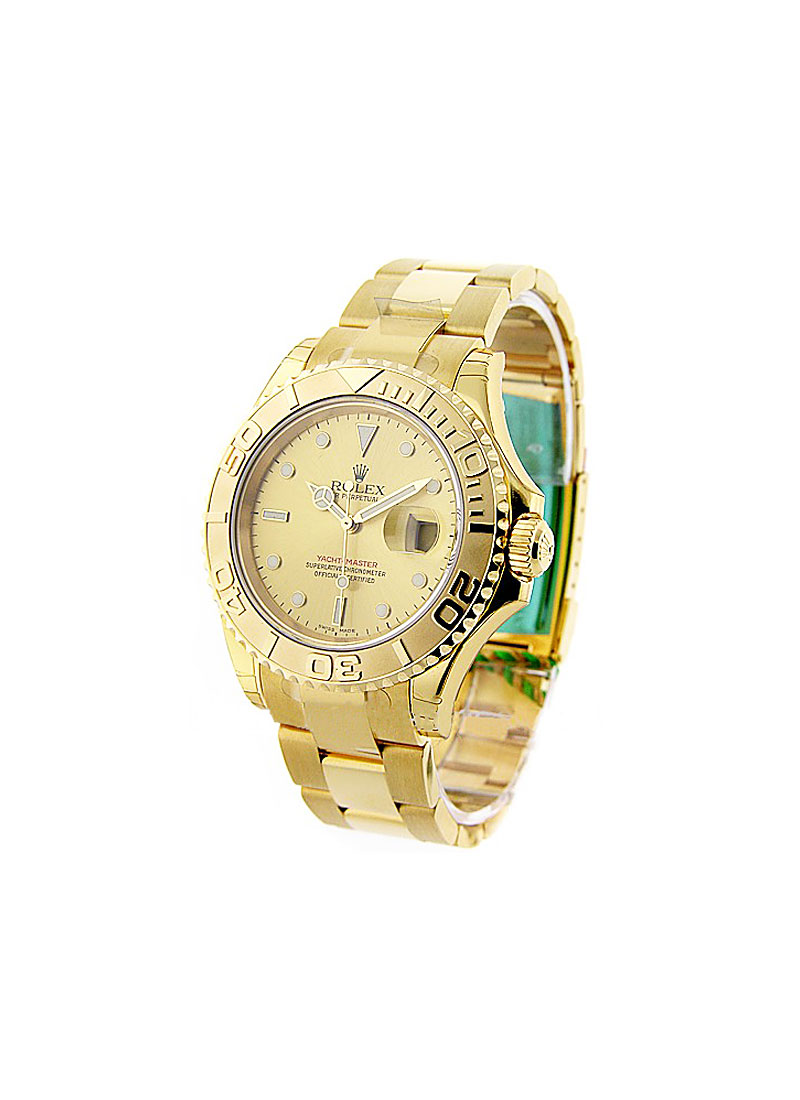 Rolex Used Yacht-master Large Size 40mm in Yellow Gold