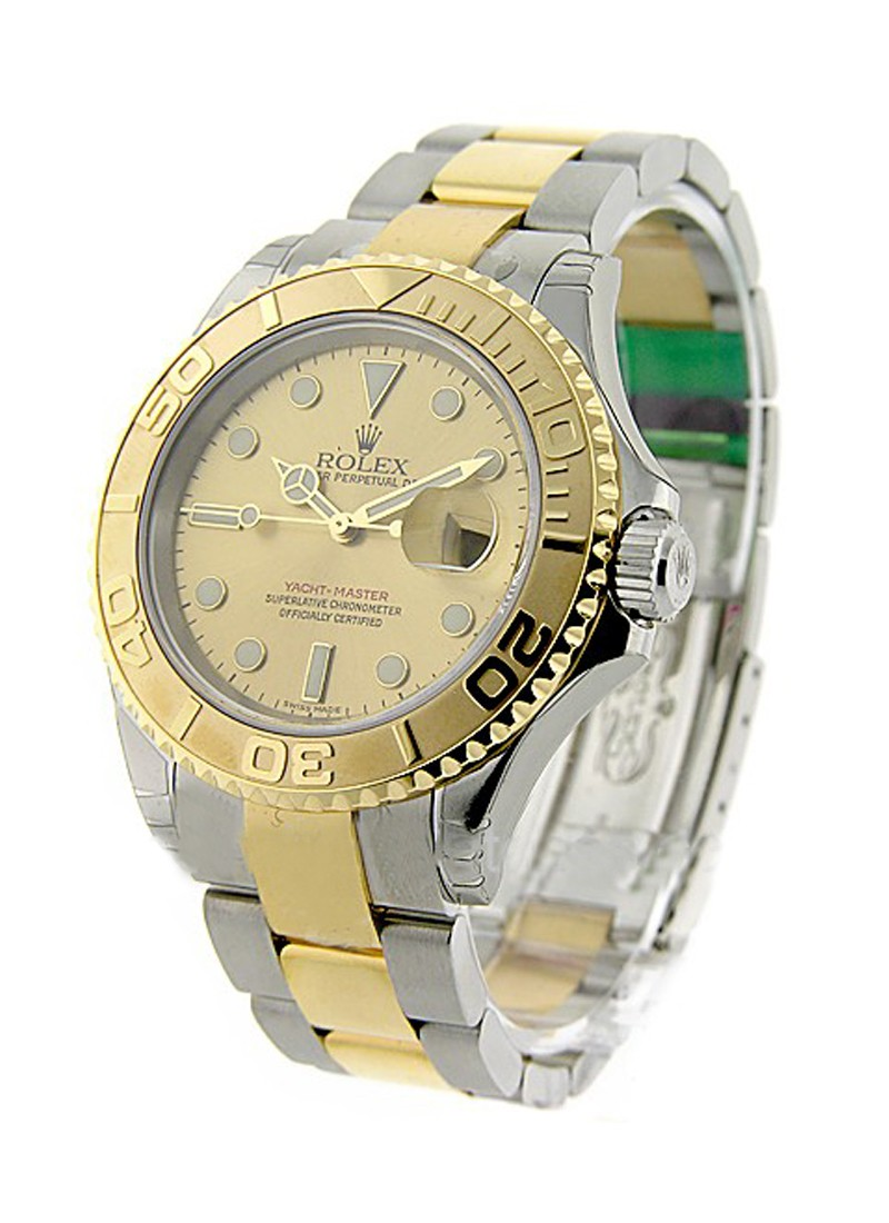Rolex Unworn Yacht-Master in Steel with Yellow Gold Bezel