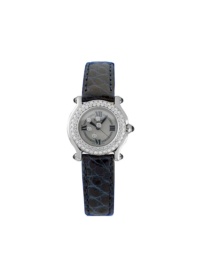 Chopard Happy Sport Classic Round 26mm in Steel with Diamonds Bezel
