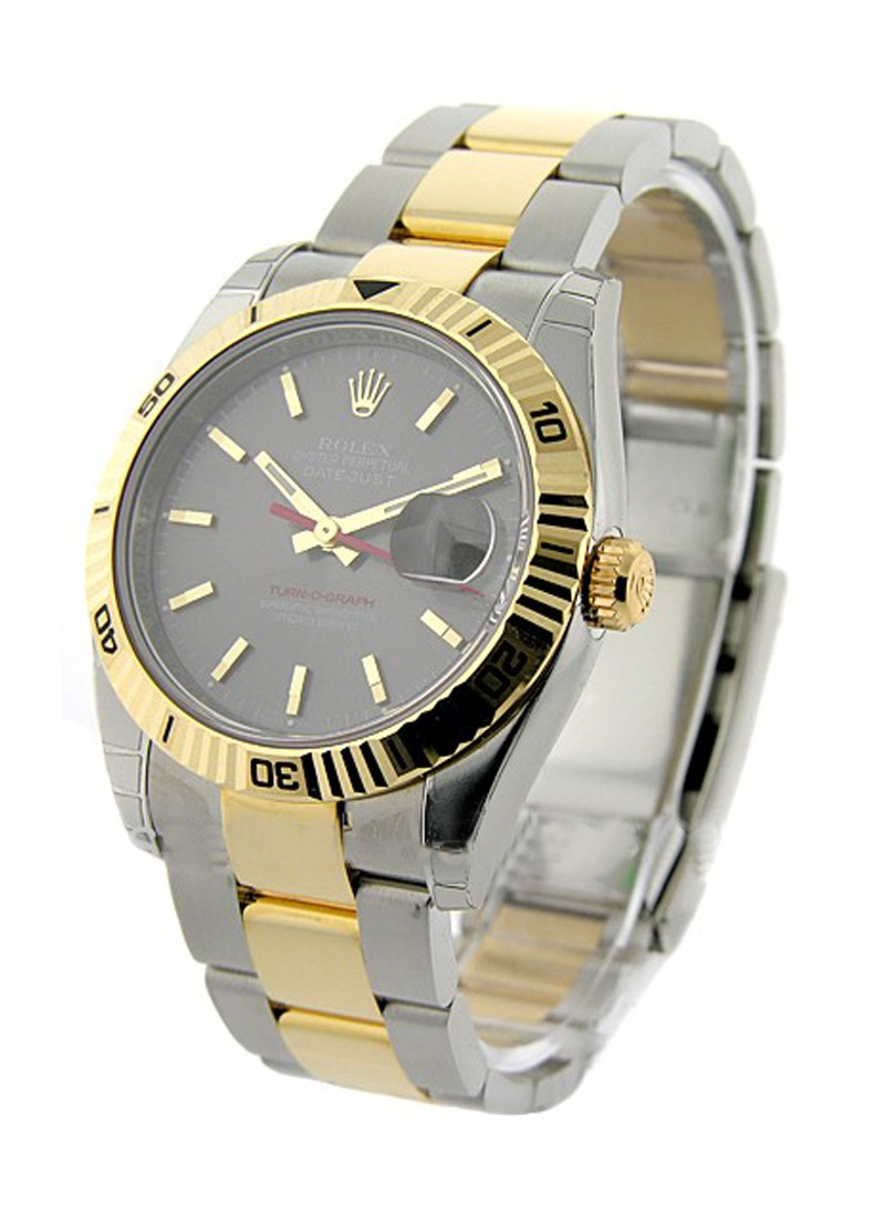 Rolex Unworn 2-Tone Datejust with Turn-o-graph Bezel