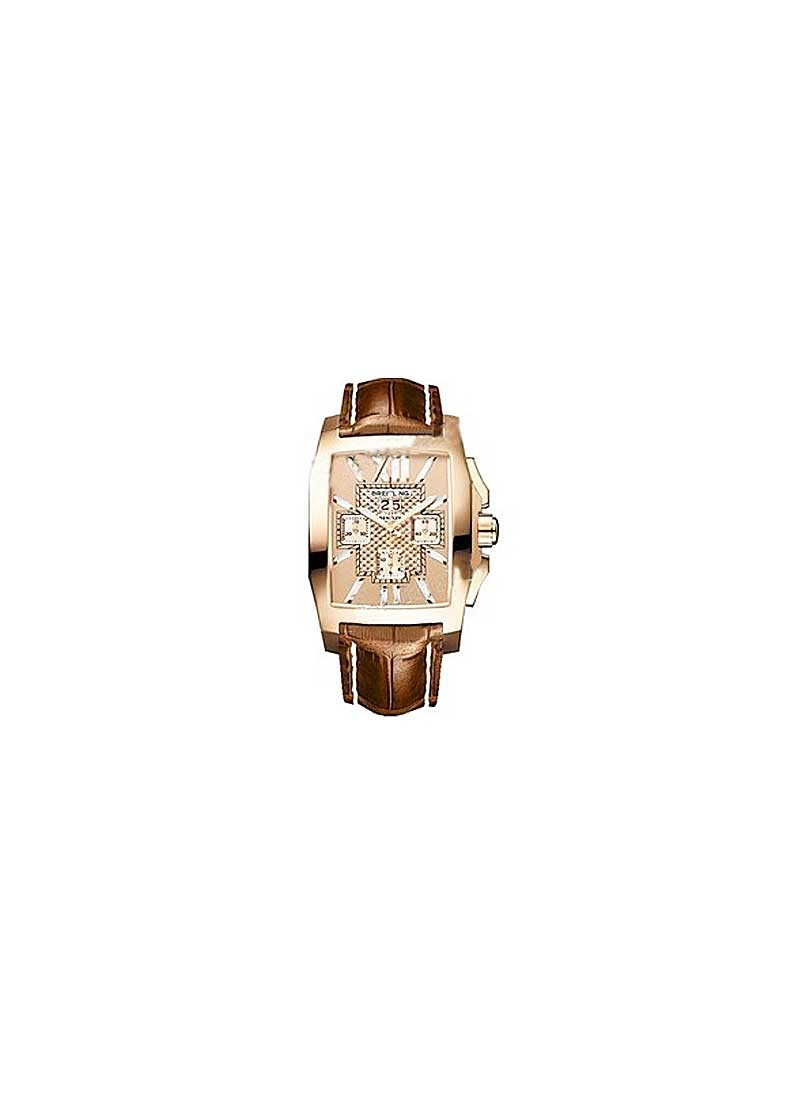Breitling Bentley Flying B No. 3 Men's Automatic in Rose Gold
