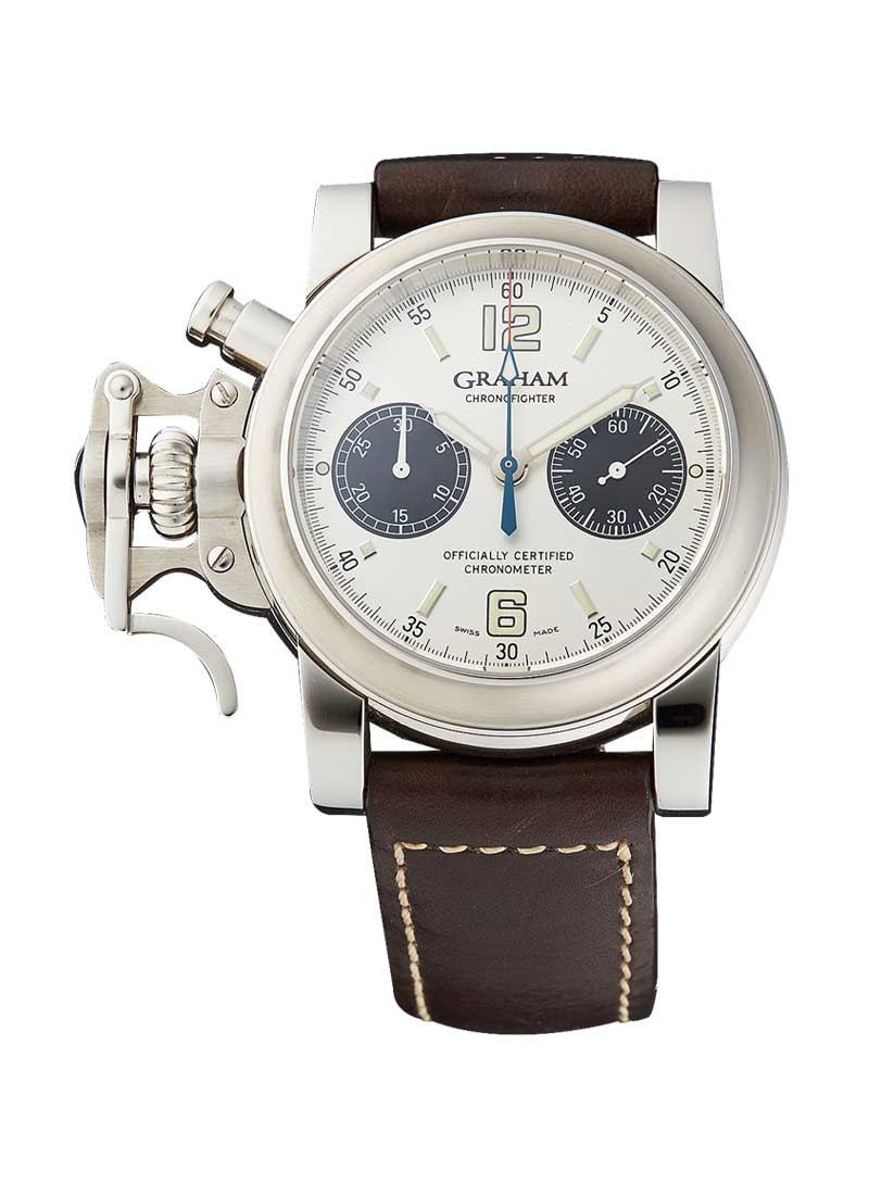 Graham Chronofighter Men's Automatic in Steel
