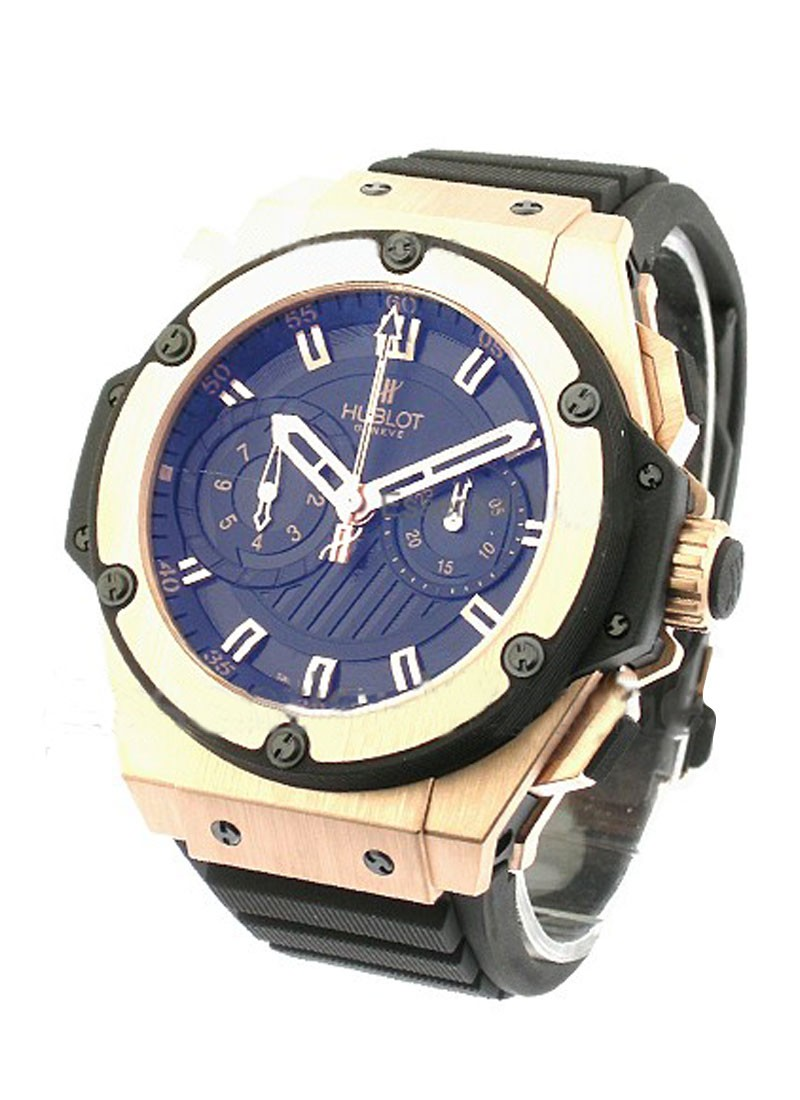 Hublot Gold King Power Foudroyante Chronograph 48mm in Rose Gold
