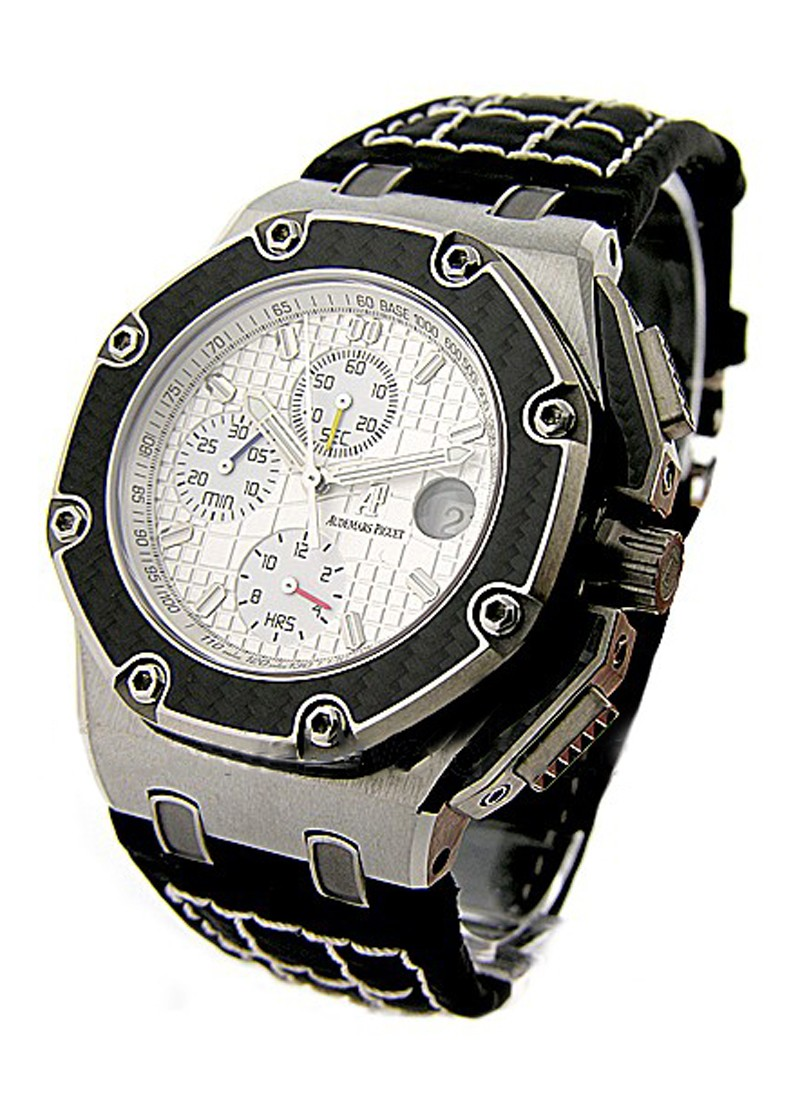 Audemars Piguet Pablo Montoya Offshore Royal Oak Chronograph in Titanium with Carbon Fiber Bezel