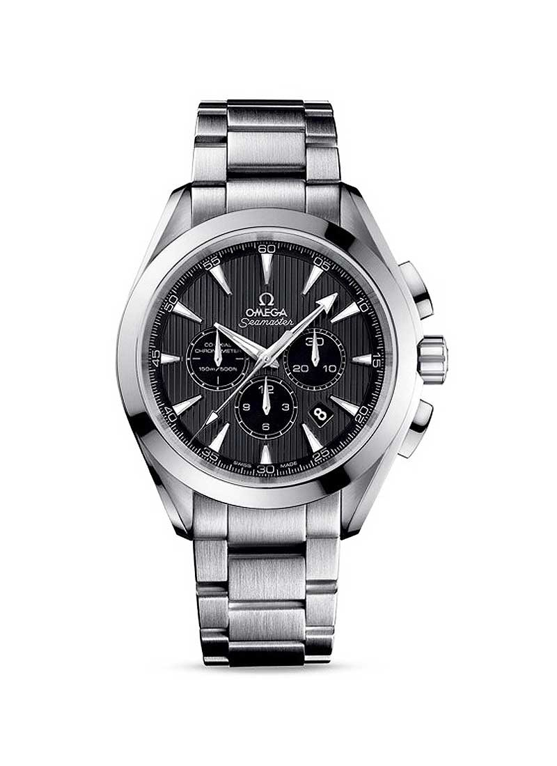 Omega Aqua Terra Chronograph in Steel