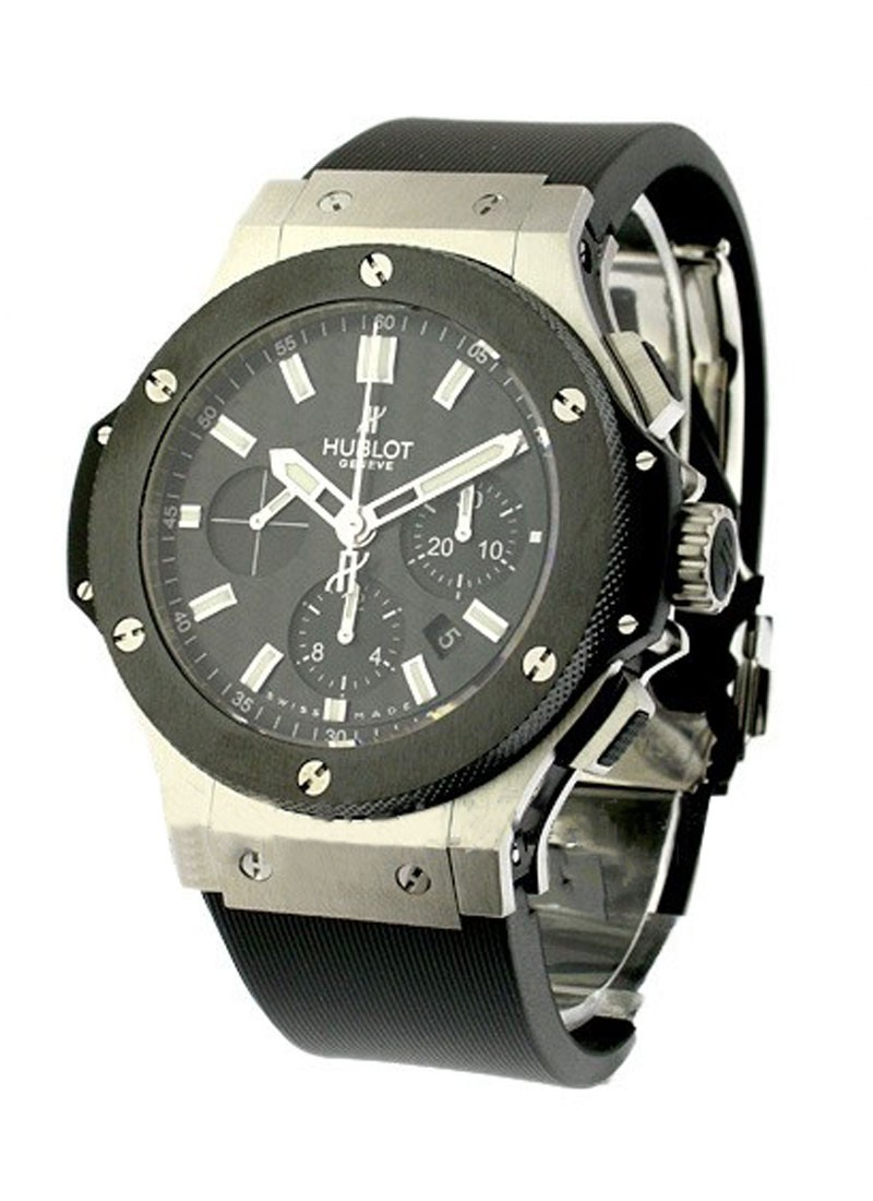 Hublot Big Bang Evolution 44mm in Steel with Ceramic Bezel