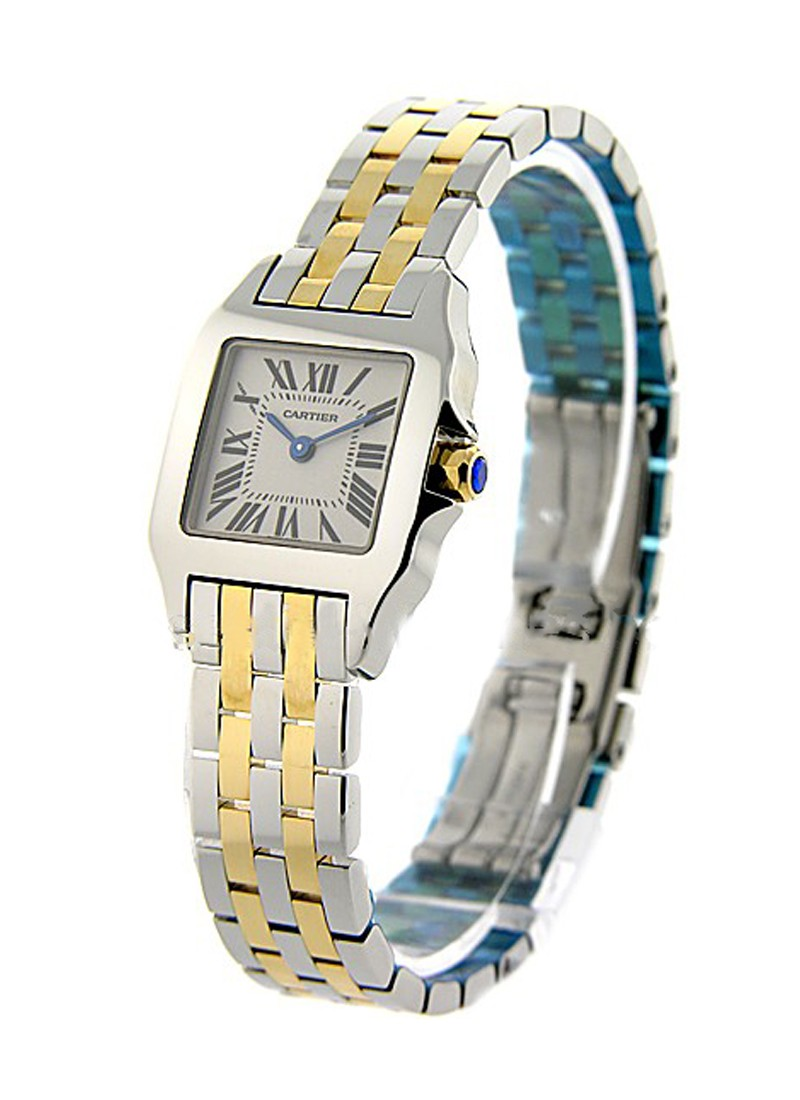 Cartier Santos Demoiselle in Yellow Gold and Steel