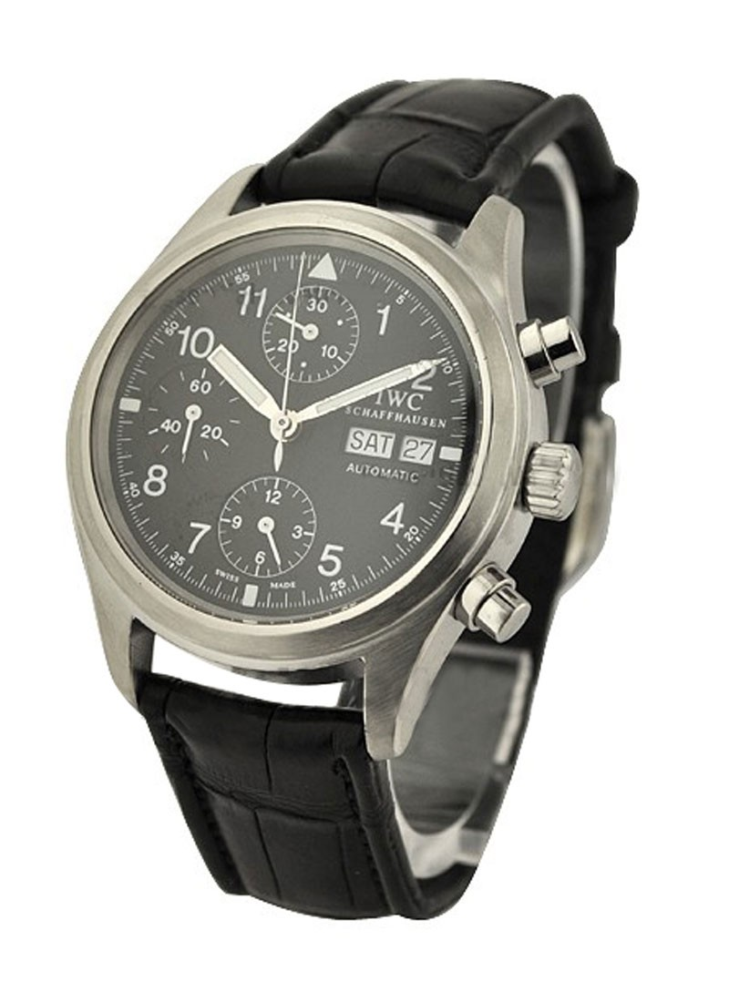 IWC Pilot's Chronograph in Steel