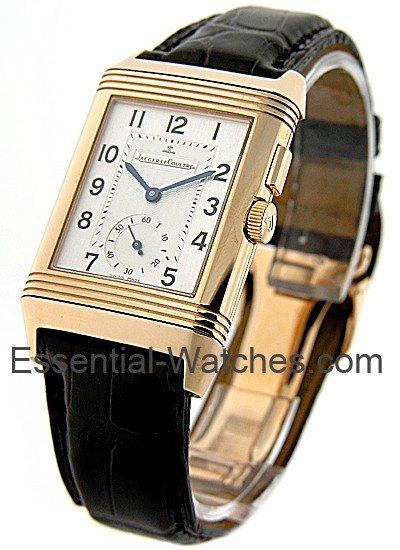 Jaeger - LeCoultre Reverso Duo in Rose Gold