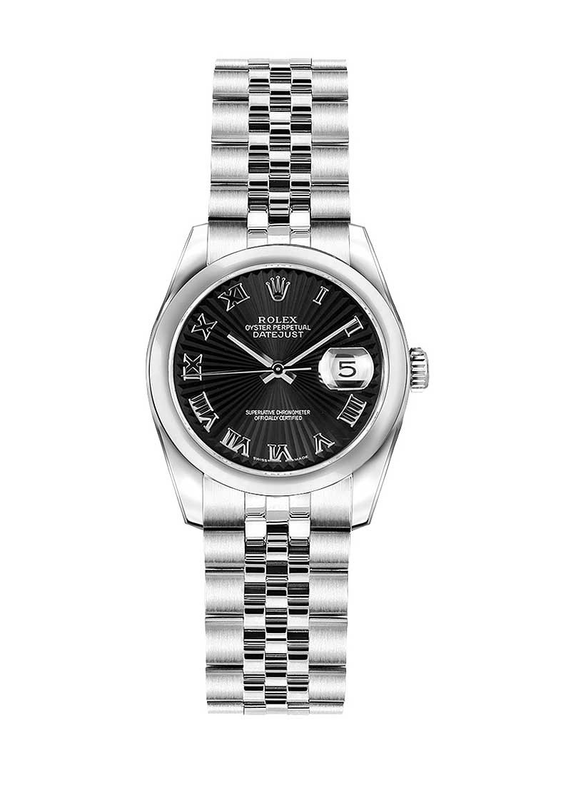 Rolex Unworn Datejust 26mm Automatic in Steel with Domed Bezel