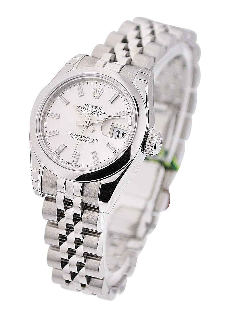 Rolex Unworn Datejust 26mm in Steel with Domed Bezel