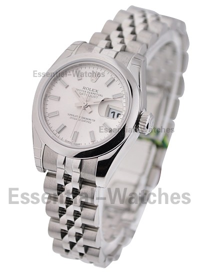 Rolex Unworn Ladies Steel Datejust with Jubilee Bracelet 179160