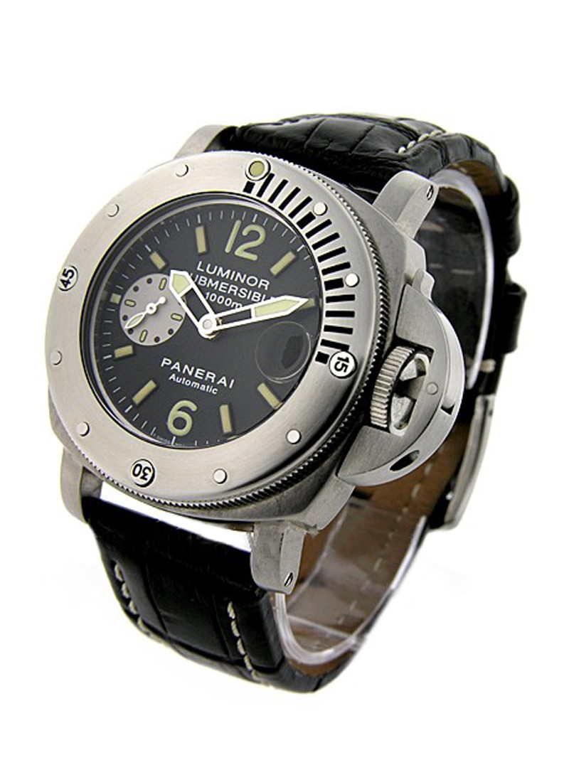 Panerai PAM 64 - Luminor Submersible - Very Rare 1000 Meters Submersible
