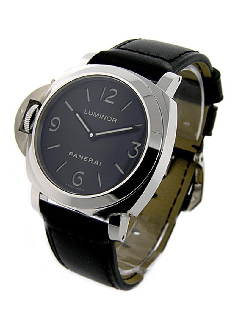 Panerai Luminor Base Left Handed in Steel