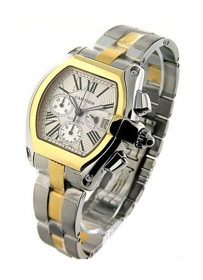 Cartier  Roadster Chronograph 2 Tone