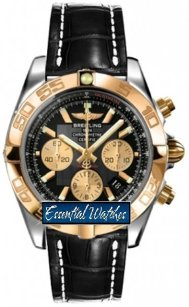 Breitling Chronomat 44 Chronograph 2 Tone in Steel with Rose Gold Bezel