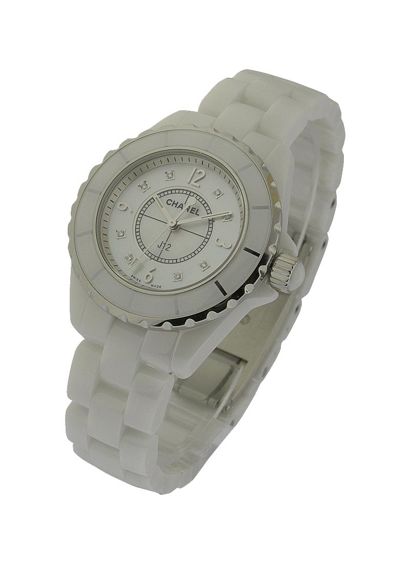Chanel J12 White Ceramic 38mm H2423